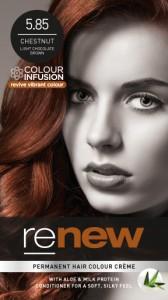 Chestnut Brown Hair Colour