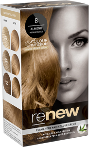 Renew Almond Medium Blonde Hair Colour