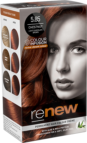 Chestnut Brown Hair Colour