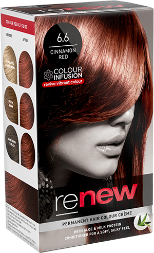Cinnamon Red Hair Colour