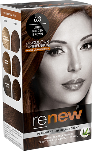 Renew Light Golden Brown Hair