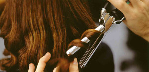 Hair damage is caused by styling tools