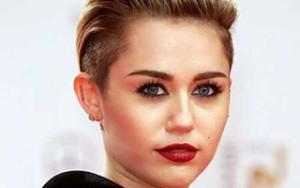 Miley Cyrus Slicked Back Hair