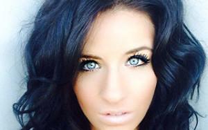 blue black hair Renew