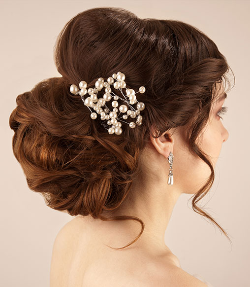 Chignon-hairstyle-fo-a-wedding