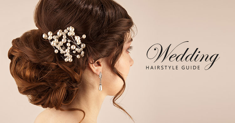 Your guide to wedding hairstyles