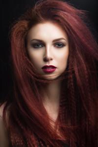 burgundy hair colour Renew