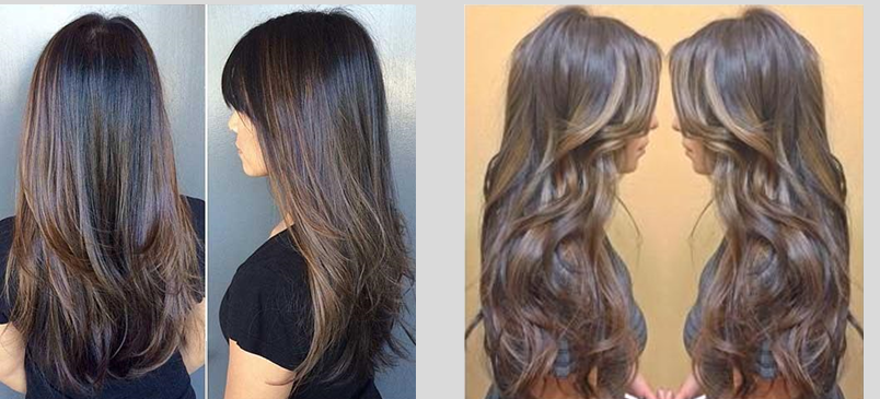 chopped layered hairstyles