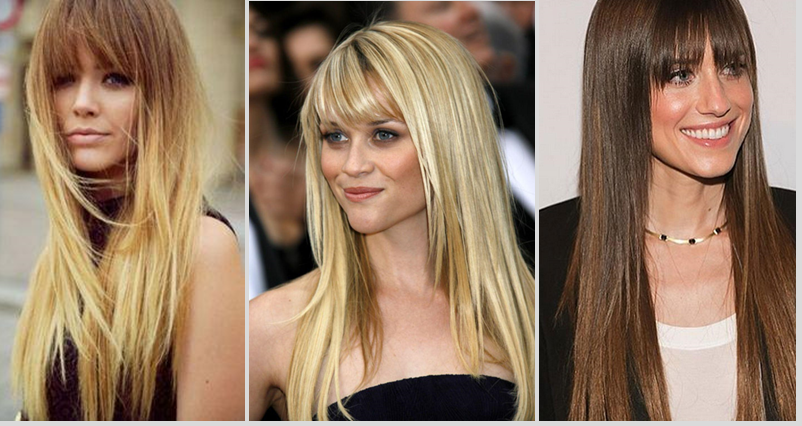 fringed layered hairstyles