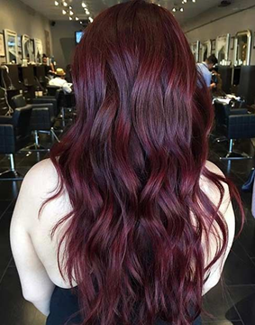 The Perfect Shade Of Burgundy For You Renew Hair Colour