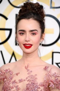Lily Collins - Renew Hair