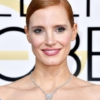 Jessica Chastain Sleek Updo