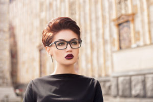 stand out with short hair