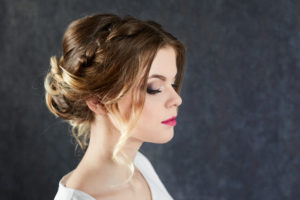 loose updo Renew hair