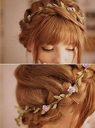 Renew goddess flower crown
