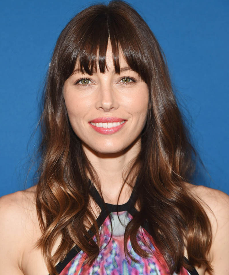 Jessica Biel Hairstyle for Square Face Shape Renew