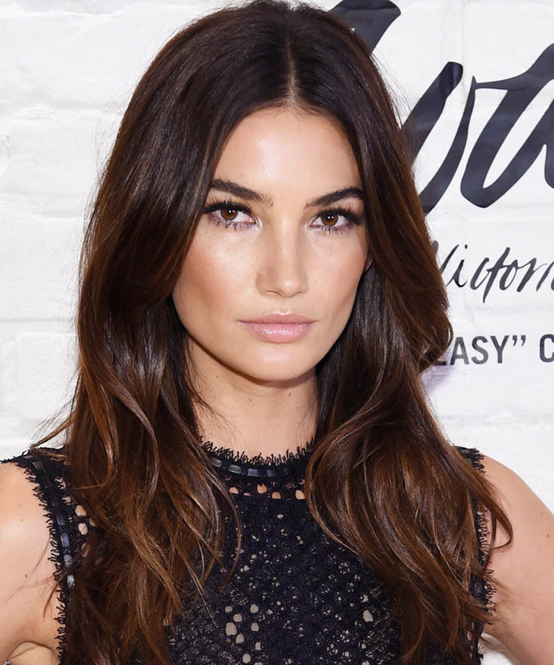 Lily Aldridge Hairstyle for Square Face Shape Renew