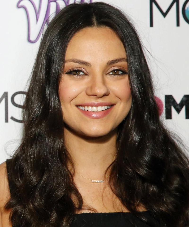 Milla Kunis Hairstyle for Round Shaped Face Renew