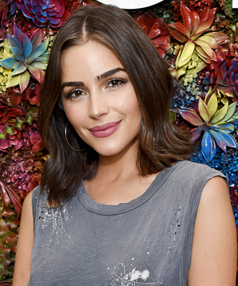 Olivia Culpo Hairstyle for Heart Shaped Face Renew