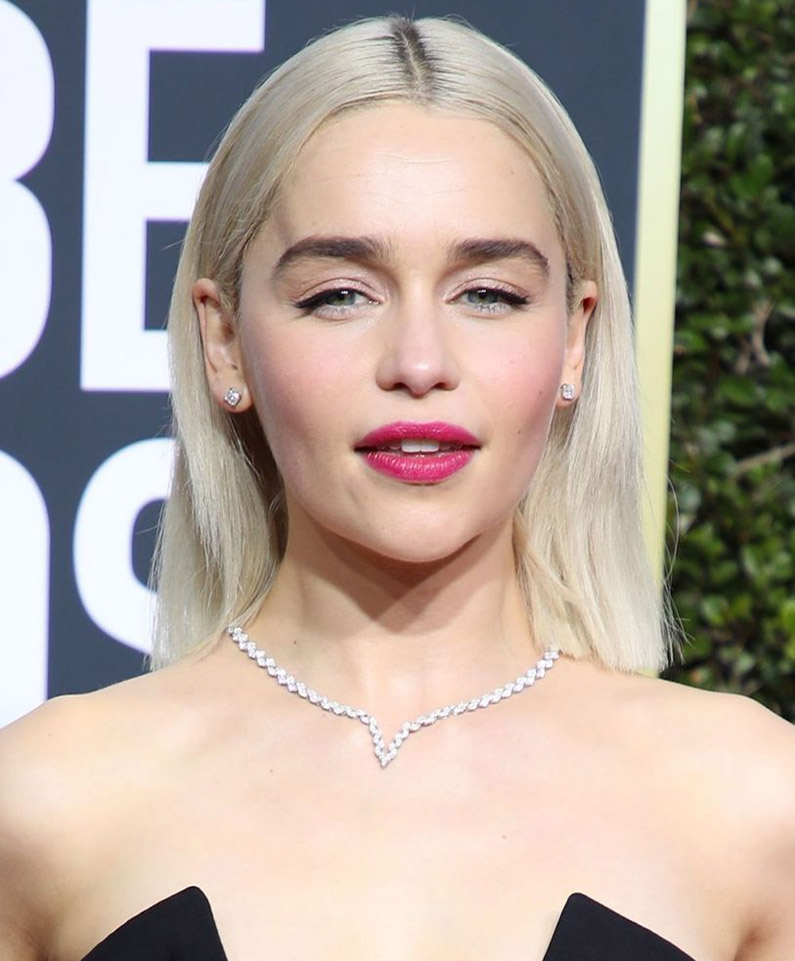 Light Blonde hair with Emilia Clarke and Renew Hair
