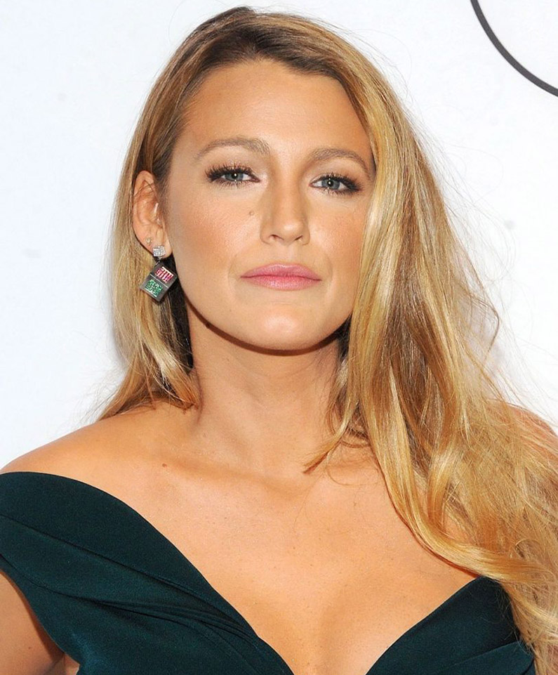 Light Golden Blonde with Blake Lively and Renew Hair