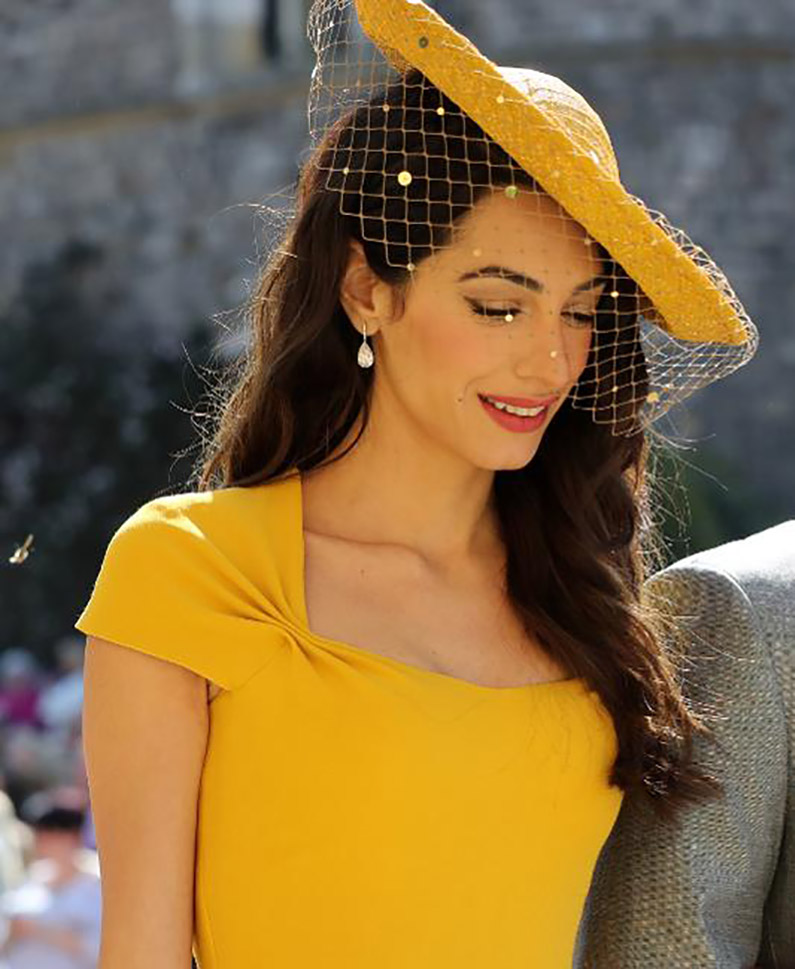 Amal Clooney with Renew's Intense Naturals Fudge