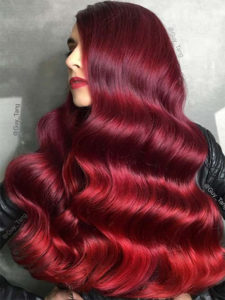 Renew's Red Wine hair colour