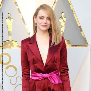 Layers of style with Emma Stone