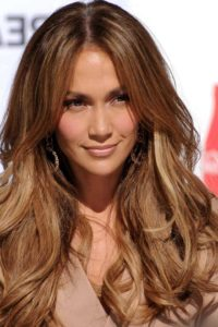 Jennifer Lopez blonde brown locks can be achieved with Renew