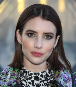 Brunette hair like Emma Roberts