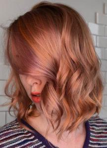 Embracing Blorange hair colour this season