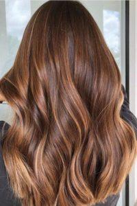 Renew: warm coffee colour hair
