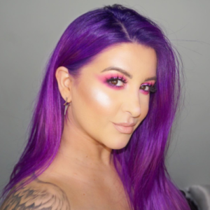 Classic pink and purple hair with Renew