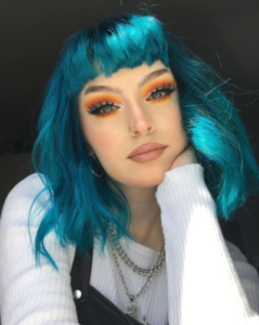 Icy Blue Hair Colour Ideas With Renew