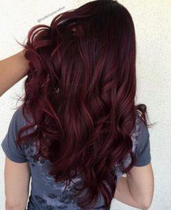 Gorgeous brown burgundy