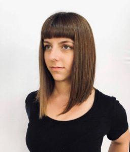 Hazel brown permanent hair colour