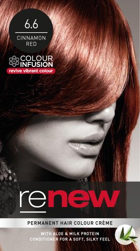 Cinnamon Red Hair Colour