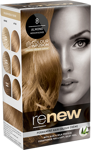 Renew Almond Medium Blonde Hair Colour
