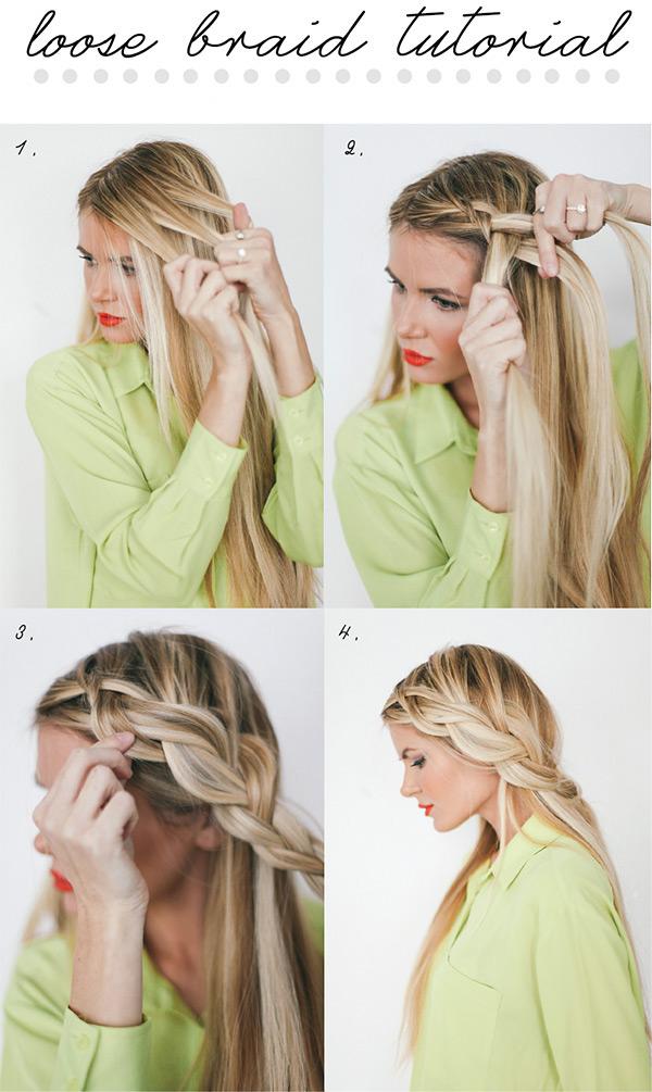 Renew Loose Braid Tutorial