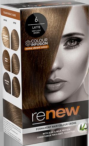 Latte Brown Hair Colour
