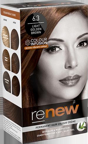 Renew Light Golden Brown Hair