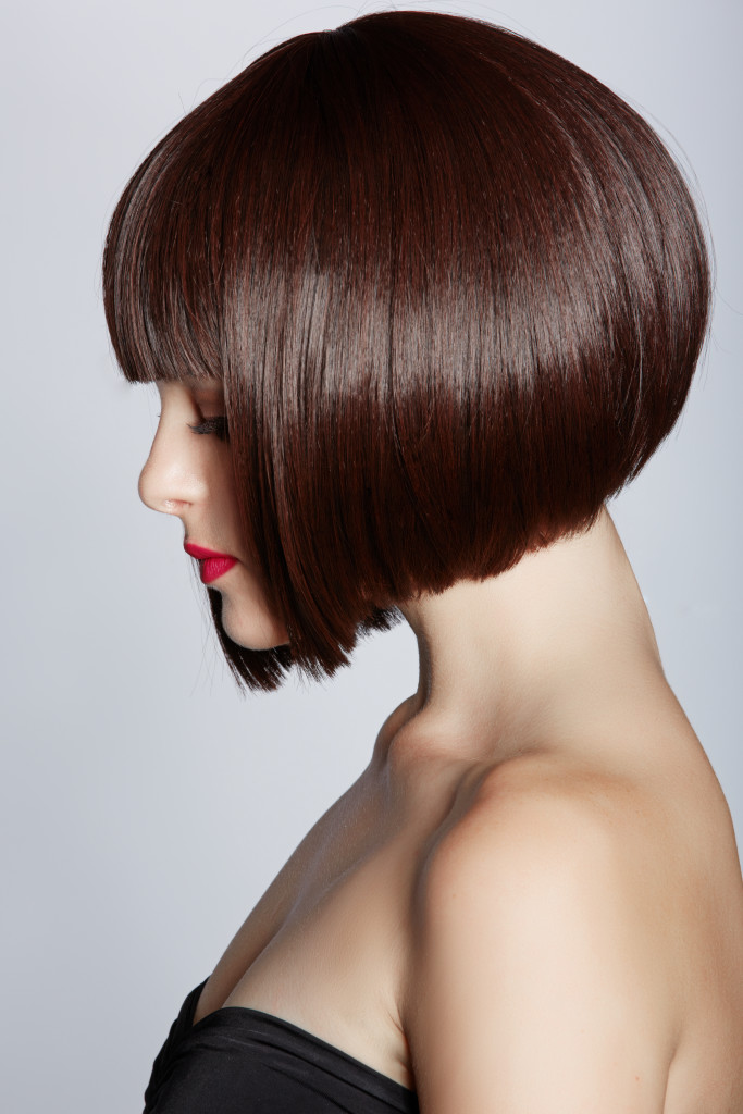 Short brown bob - Renew Hair Colour