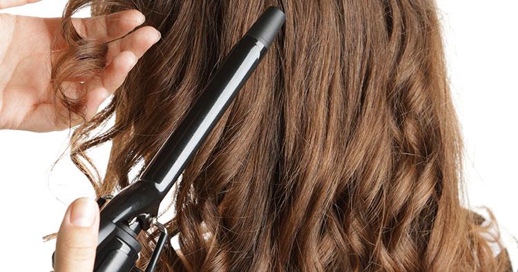 Burnette Curly hair