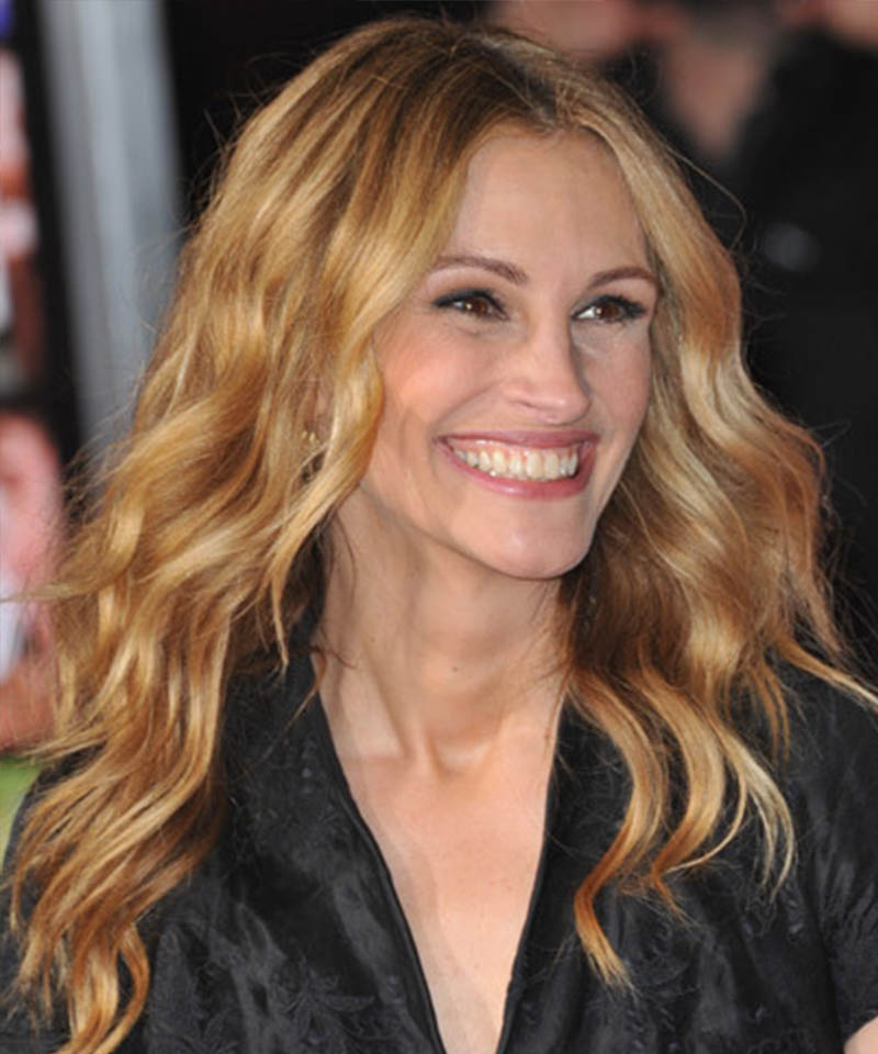 Julia Roberts Hairstyle for Diamond Shaped Face Renew