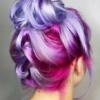 Kaleidoscopic hair colour with Renew