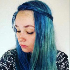Blue Unicorn Renew Hair Colour