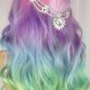 Magical unicorn hair