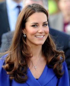 Kate Middelton Duchess of Cambridge brown hiar with Renew Hair Colour