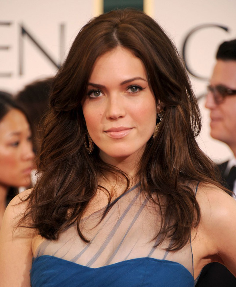 Warm Brown hair colour with Renew hair and Mandy Moore