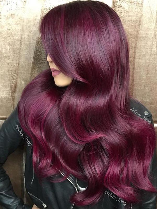 Mulberry hair colour